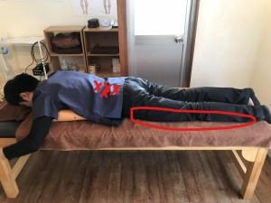 腰の筋肉と足の痛み