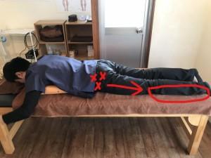 お尻の筋肉と足の痛み