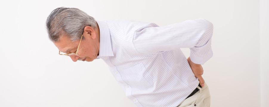 骨粗鬆症による腰痛